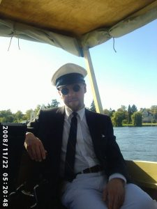 Benno Radke - Dampferfahrt