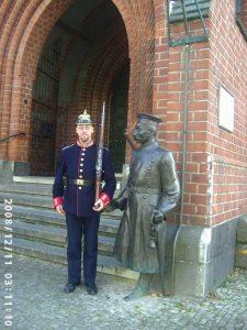 Benno Radke als Hauptmann von Köpenick
