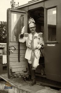 Benno Radke als Kaiser Wilhelm II
